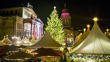 Jarmark Bożonarodzeniowy na Gendarmenmarkt w Berlinie