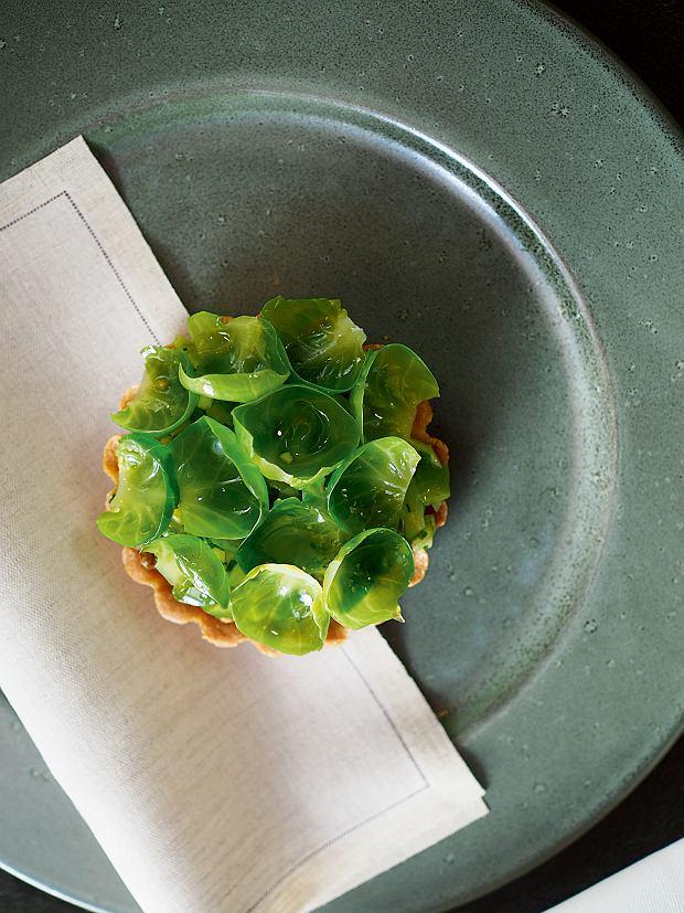 Rijks: tartaletka zkoziną ibrukselką inspirowana indonezyjską potrawą rendang