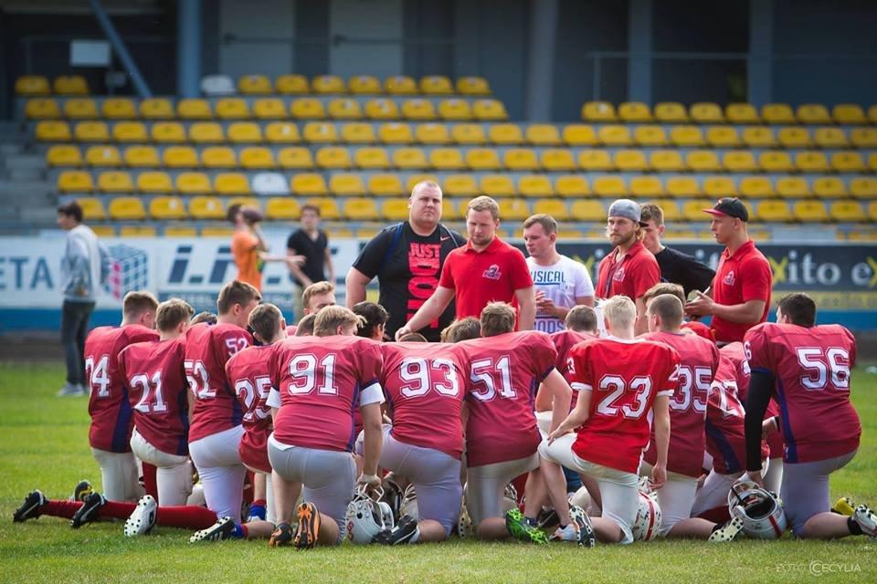 Młodzi futboliści Gryfitów Szczecin