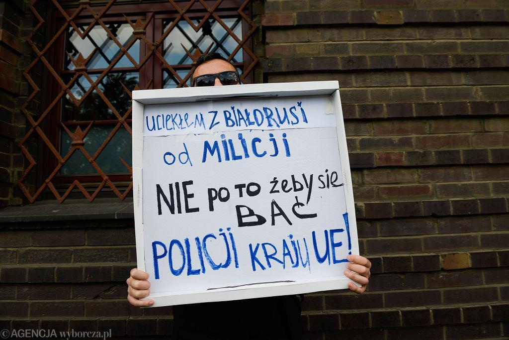 Protest pod komendą we Wrocławiu