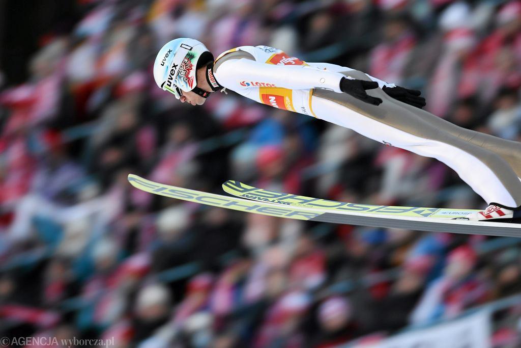 Kamil Stoch podczas konkursów Pucharu Świata w Zakopanem