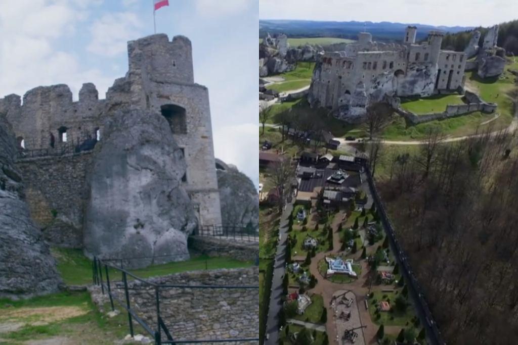 Zamek Ogrodzieniec w 'Ślubie od pierwszego wejrzenia'