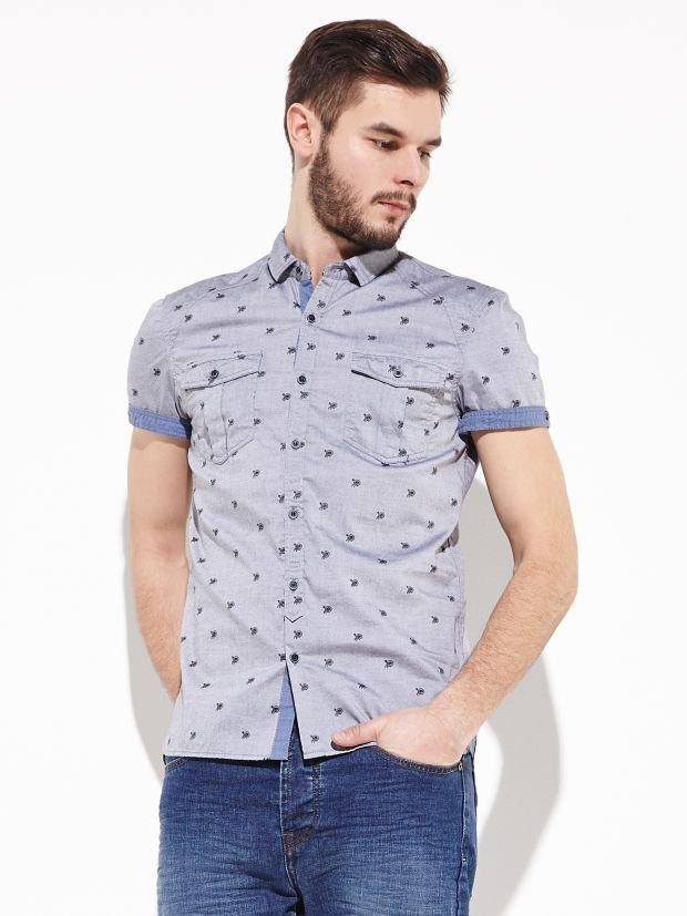Gdy t-shirt to za mało: koszule z krótkim rękawem