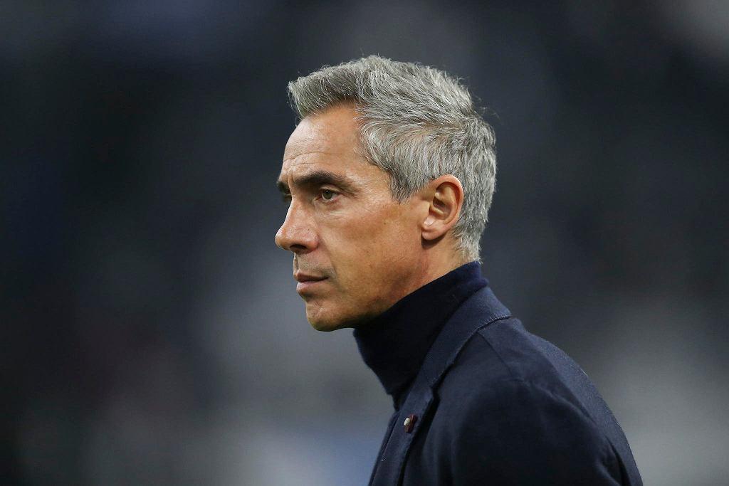 Trener Paulo Sousa