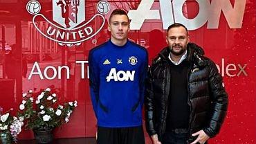 Bartłomiej Maliszewski na testach w Manchesterze United