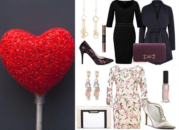 Walentynkowe inspiracje - zestawy (nie tylko) na randkę