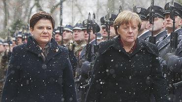 Angela Merkel, Beata Szydlo