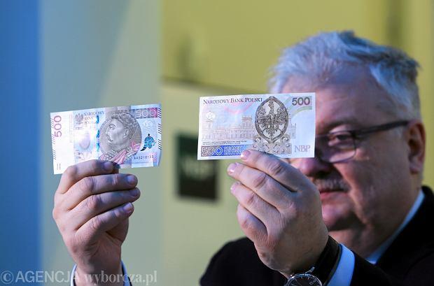 Banknot 500 zł z królem Janem III Sobieskim już w obiegu. Królowa Jadwiga nie dostała szansy