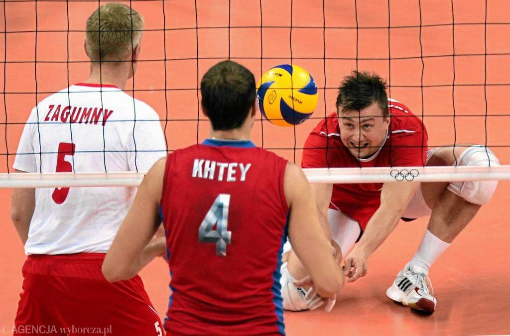 Polska - Rosja 0:3. Przyjmuje Krzysztof Ignaczak