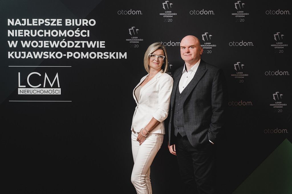 Lider Nieruchomości Otodom 2020. LCM Nieruchomości najlepszym biurem w woj. kujawsko-pomorskim