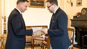 Andrzej Duda i Bartosz Cichocki