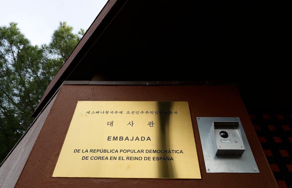 Ambasada Korei Północnej w Madrycie.