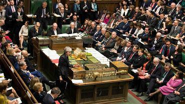 Brexit. Theresa May przemawia w Izbie Gmin
