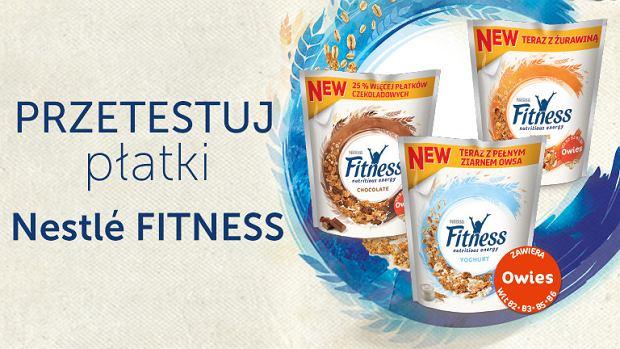 Test płatków Nestle Fitness