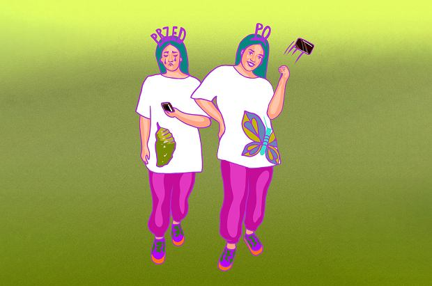 Moda na metamorfozy ma drugie dno: fatfobię