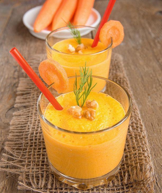 Świeżo wyciskany sok z marchewki smakuje najlepiej