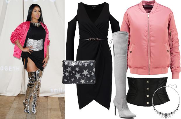 Nicki Minaj - stylizacja