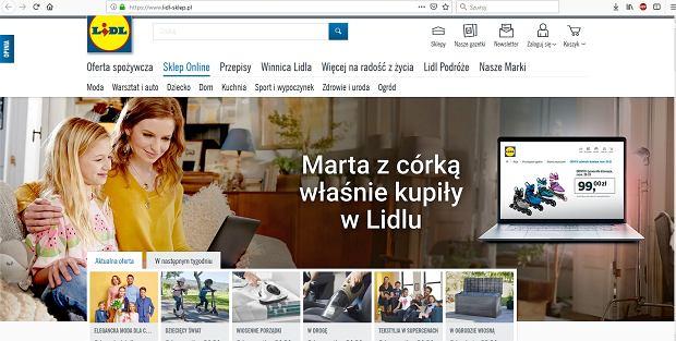Tak od piątku będzie wyglądać polska strona Lidla