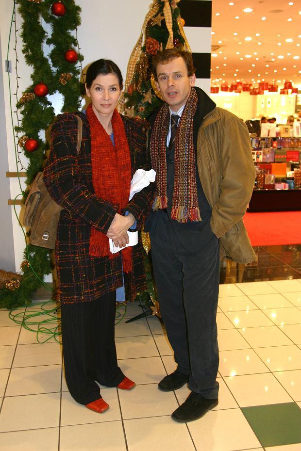 Grażyna Wolszczak, Tomasz Schimscheiner
