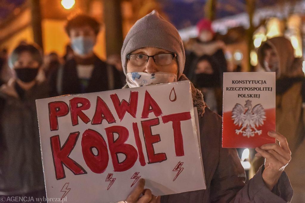 Strajk Kobiet - Zielona Góra