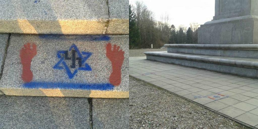 Zdewastowali pomnik radziecki