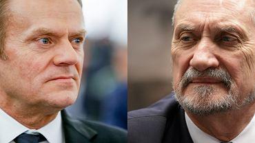 Donald Tusk, Antoni Macierewicz