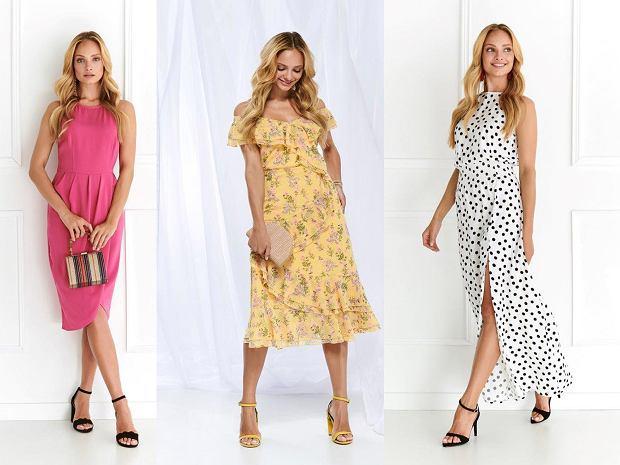 48cb8d15 Moda 2019. Koktajlowe sukienki na wesele Top Secret | Moda i Trendy