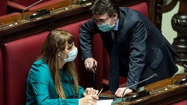 Posiedzenie niższej izby włoskiego parlamentu, 25 lutego 2020 r.
