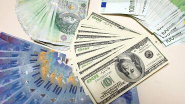 Kursy walut 07.08 o godz. 7. Złotówka traci do głównych walut [kurs dolara, funta, euro, franka]