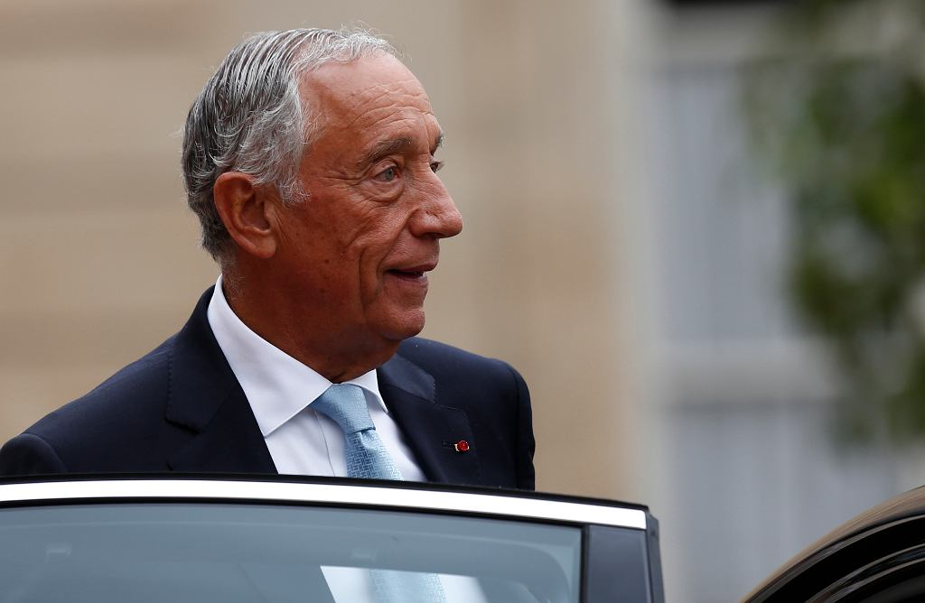 Prezydent Portugalii Marcelo Rebelo de Sousa.
