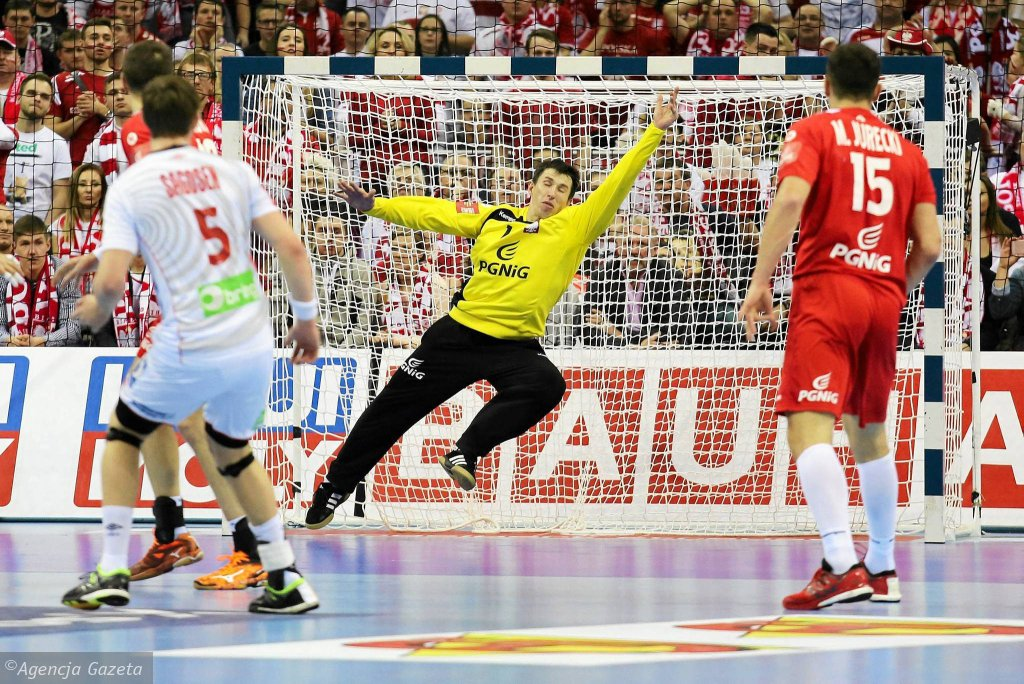 Mecz Polska - Norwegia w piłce ręcznej
