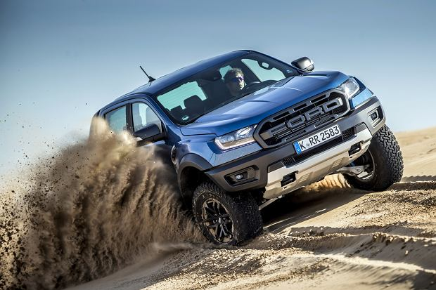 "Ford Ranger Raptor - opinie Moto.pl. ""Born To Be Wild"""