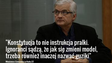 Włodzimierz Cimoszewicz w Radiu ZET