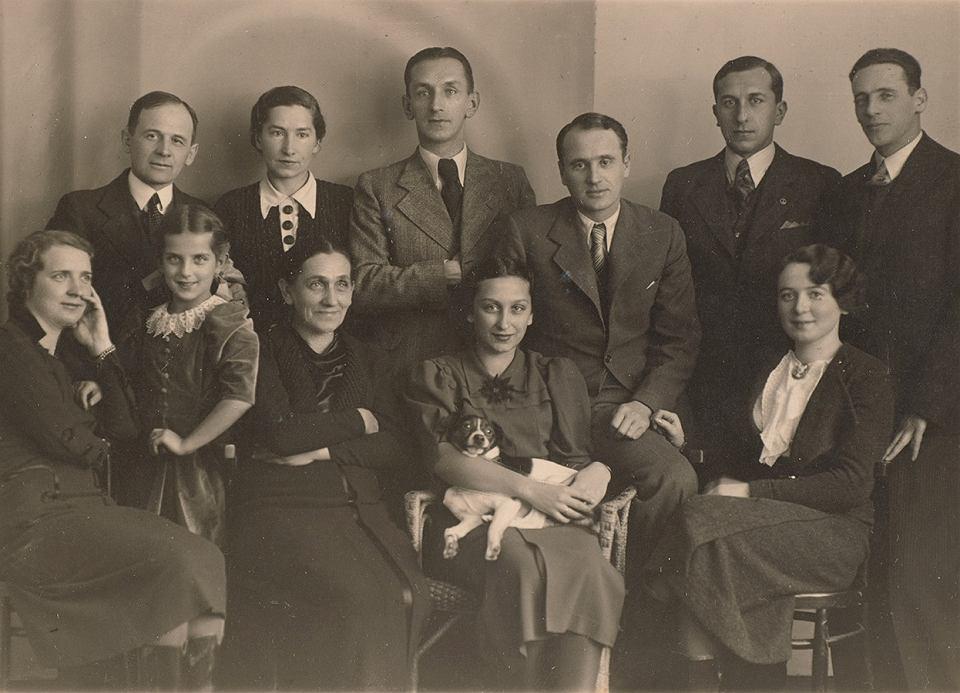 Zdjęcie rodzinne Czerneckich i Michalewskich, Kielce przed wojną