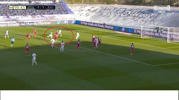 Tak Karim Benzema zdobył zwycięskiego gola z Elche