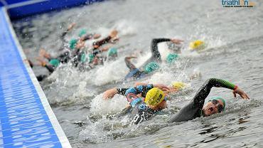 Pływacy w Londynie