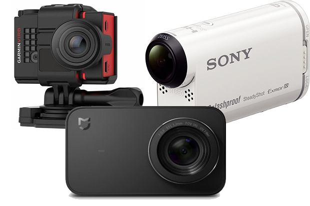 Kamery sportowe - różne modele i producenci