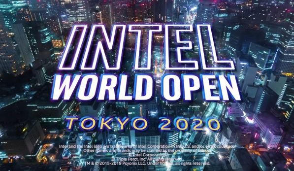 Intel World Open Tokio 2020, Źródło: Facebook, Intel