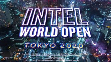 Intel World Open Tokio 2020, Źródło: Facebook, Intel