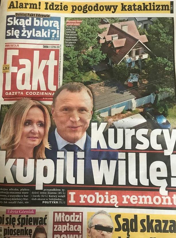 Kurscy kupili willę