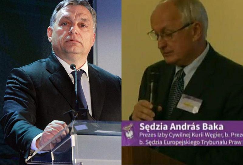 Victor Orban i András Baka