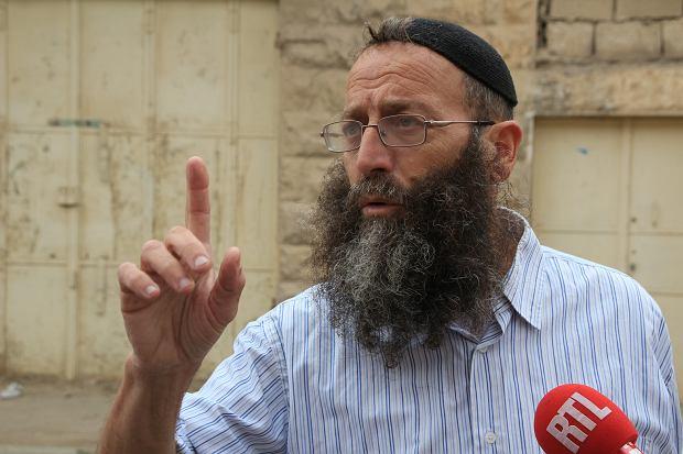 Osadnik z Hebronu Baruch Marzel