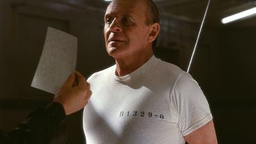Anthony Hopkins jako Hannibal Lecter w filmie 'Czerwony smok' z 2002 roku.