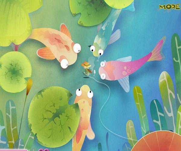 Wystrojone rybki