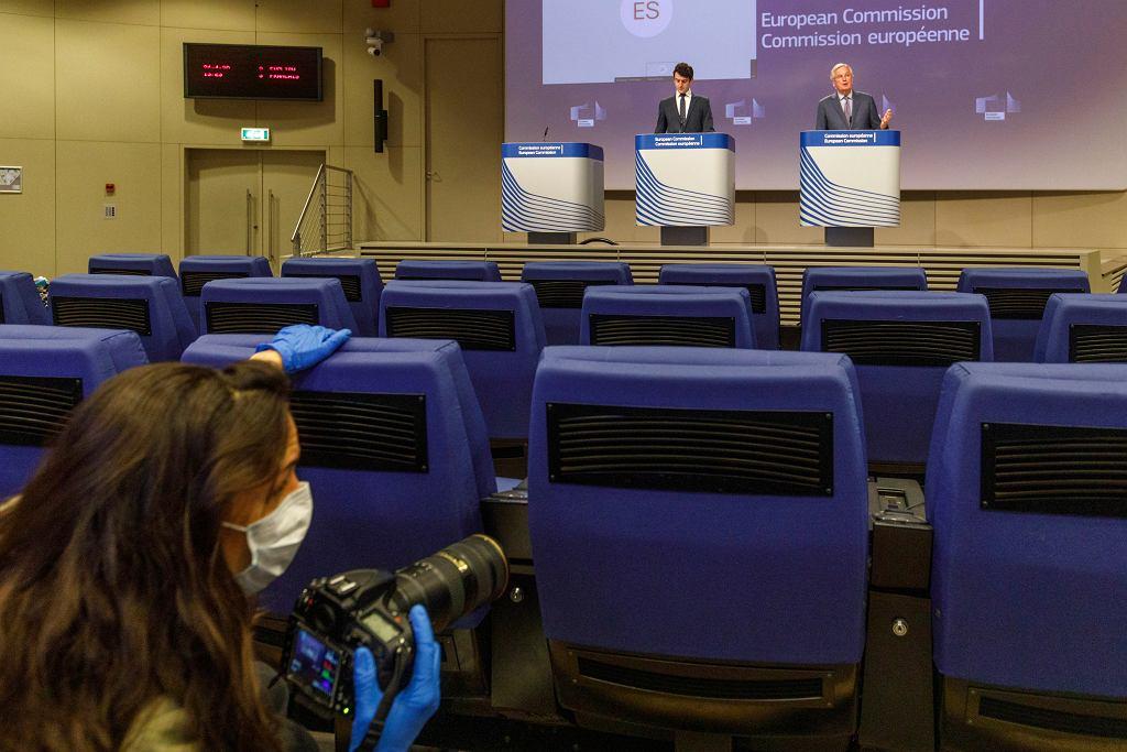 Konferencja Komisji Europejskiej (zdjęcie ilustracyjne)