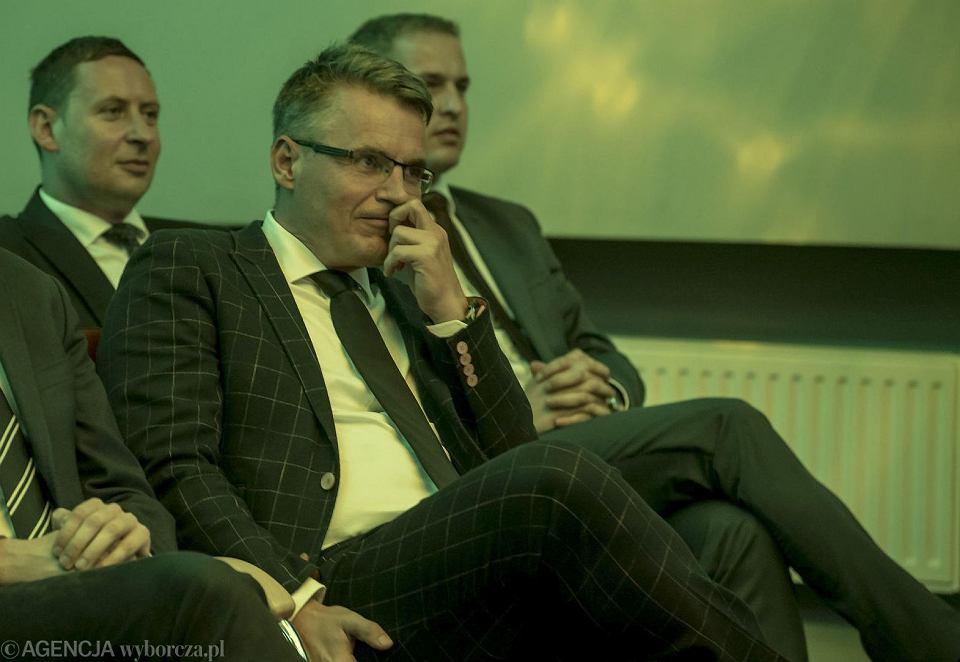 Janusz Kubicki, prezydent Zielonej Góry. Konwencja wyborcza PSL przed wyborami parlamentarnymi w 2019 r. Zdjęcie ilustracyjne