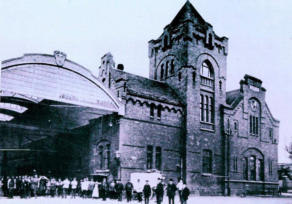 Reprodukcja zdjęcia z wystawy Toruńskie Przedmieścia w XIX i pocz. XX wieku