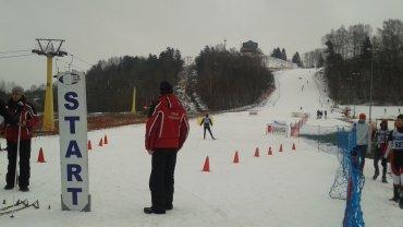 Zawody w biegach narciarskich z cyklu Mazury Lopped Cup w Gołdapi