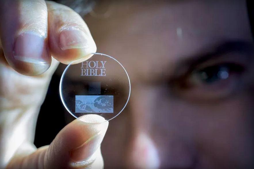 Szkło z nanostrukturami