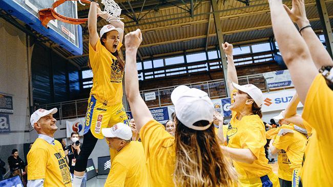 Fenomenalny sezon koszykarek VBW Arki Gdynia. Wygrały wszystko, co było do wygrania